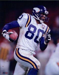 Cris Carter Minnesota Vikings NFL Football Unsigned Glossy 8x10 Photo B