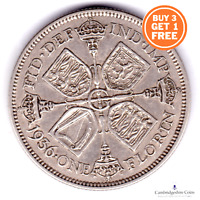 1937 - 1946 BRITISH SILVER TWO SHILLING FLORIN COIN GEORGE VI CHOOSE YOUR DATE