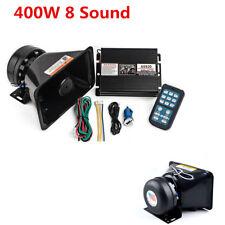 400W Car Warning Police Siren Speaker 8 Kinds of Sound Anti-jamming Performance