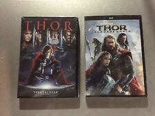 Thor One and Thor Two: The Dark World (2 DVD bundle) FREE First Class Shipping!