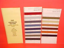 1969 AMC RAMBLER AMERICAN AMX JAVELIN AMBASSADOR REBEL SST ROGUE PAINT CHIPS SW