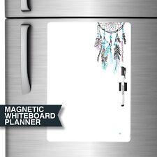 Soft & Flexible Magnet Fridge Whiteboard Planner. Includes Marker & Magnet Clip.