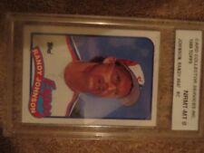 Randy Johnson 1989 Topps #647 Rookie Graded NRMT-MT 8.0