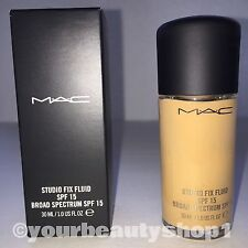 New Mac Foundation Studio Fix Fluid Foundation  SPF 15 NC40 100% Authentic