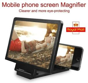 3D Screen Amplifier Mobile Phone Magnifying Glass HD for Video Folding Screen