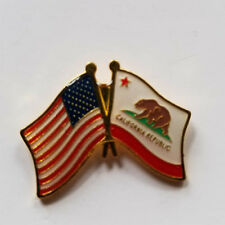 Usa Flag State of California Flag Lapel Hat Pin California State Flag Tie Tac