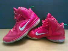 Nike Lebron 9 IX Christmas Men's Size 9 Red/Green Silver Low Top 469764-602