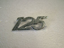 YAMAHA  AS1, AS2 '68 - '70 SIDE COVER BADGE