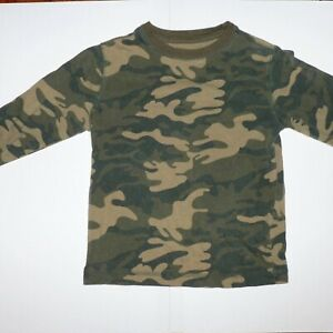 Old Navy Camouflage Long Sleeve Camo T Shirt Size Youth XS / Extra-Small