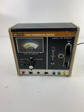 Vtg Bampk Precision 520b Transistor Tester Dynascan