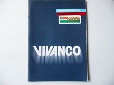 Prospekt / Katalog ►VIVANCO Gesamtprogramm 1984◄ (55 Seiten)