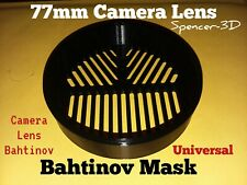 77mm Camera Lens Bahtinov Focus Mask (Fits 77mm Lenses)