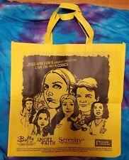 Joss Whedon Dark Horse Comics Yellow Tote Bag Buffy Angle & Faith Serenity