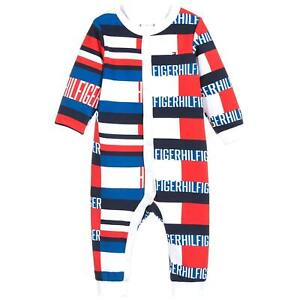 Tommy Hilfiger Baby All Over Flag Print Babygrow KN0KN01167