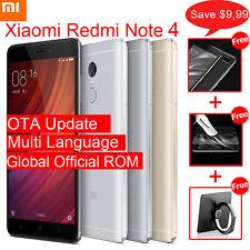 Xiaomi Redmi Note 4 4G Smartphone MIUI 8 5.5'' 2.0GHz 3GB+32GB/4GB+64GB Unlocked