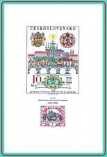 CZECHOSLOVAKIA 1968 STAMP on STAMPS // STAMP SHOW imperf S/S SC#1554 MNH BRIDGES