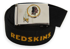 Web Belt with Buckle Washington Redskins NFL