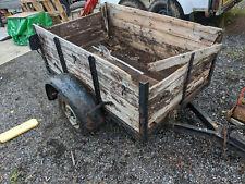 Small trailer need reboarding OT031020L