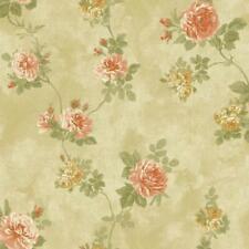 York Baton Rouge Vintage Rose Raised Print Wallpaper - Nv6088