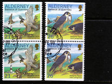 Alderney 2000 Endangered Species Booklet Pairs CTO FU  SGA140-1a Pairs