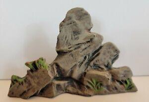 Lineol Elastolin Germany Vintage Rocks Scenery Cowboys Indians Toy