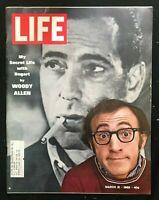 LIFE MAGAZINE  Mar 21 1969 - WOODY ALLEN / Humphrey Bogart / I Am Curious Yellow