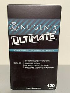 Nugenix Ultimate Testosterone Booster- 120 Tablets