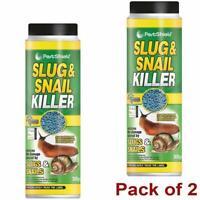 Slug Killer Snail Killer Blue Pellets Pest Control Slug & Snail Killer Pack of 2