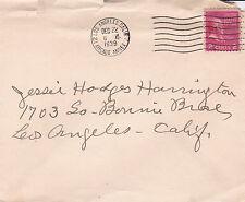 United States 1939 Los Angeles Arcade Annex cover fair condition D
