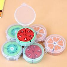 10Pcs/Box Creative Fruit Shape Erasers Kids School Supplies Rubber Random Sell