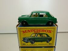 LESNEY MATCHBOX 64  M.G. MG 1100 - GREEN - GOOD CONDITION IN BOX