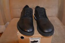 ZARA BLACK TAG SMOOTH LEATHER CONCEALED LACES BLUCHERS DRESS CASUAL SHOES 9 42