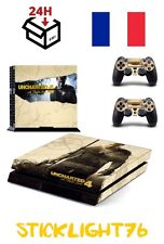 skin cover uncharted 4  controller manette ps4 sony playstation stickers