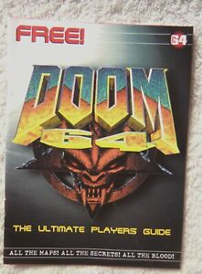 74637 Total 64 -  Doom 64 The Ultimate Players Guide Magazine 1997