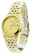 Seiko 5 Automatic Gold Stainless Steel 38mm Case Men's Watch SNK366K1
