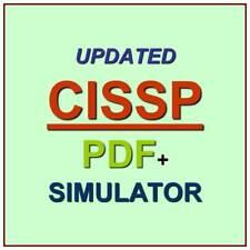 ISC2 CISSP Info Systems Security Test Exam 3075 QA W/ Explanations PDF+Simulator