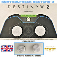 Kontrol Freek Destiny 2 Ghost Xbox One Controller Thumb-Grips  Sticks (WHITE) UK