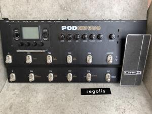 Line 6 POD HD500 multi-effecter Peda free shipping