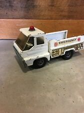 Vintage 1966 Structo Emergency Rescue Squad Metal Truck by Ertl Toys