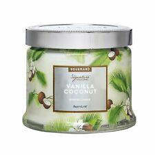 Partylite Vanilla Coconut 3-Wick Jar Candle ~ New!