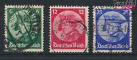 Deutsches Reich 479-481 (kompl.Ausg.) gestempelt 1933 Friedrich der Gr (9119844