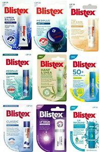 Blistex Lip Balm 9 Type Relief Intensive Shea Butter Med Plus Moisturising, 50+