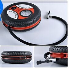 Portable Black Electric Mini 12V Auto Air Compressor Pump Car Tyre Tire Inflator