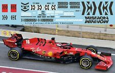1/18 F1 Sponsor Decals x Ferrari SF1000 2020 TB Decal TBD488