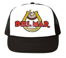 DEL MAR SKATEBOARD RANCH Trucker HAT Vintage Style 70s 80s CAP punk
