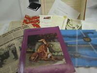 Vintage Ephemera Lot Cards Bills Receipts Maps Brochures Tickets 34914