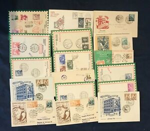 SPAIN: Lot 41 FDC's 1940's-1950's.