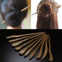 Carved Wooden Hair Stick Pin Handmade Hair Stick Chopsticks Hairpin Chignon Pin