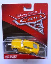 Disney Pixar Cars 3  CRUZ RAMIREZ  Rare Over 100 Cars Listed UK !