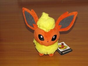 FLAREON Pokemon Center Standard PokeDoll Poke Doll US Seller - NEW!